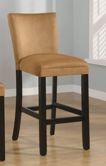 29 Inch Bar Chair (Set of 2) in Gold Ochre - Coaster