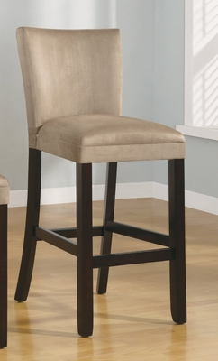 29 Inch Bar Chair (Set of 2) in Taupe - Coaster