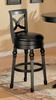29 Inch Bar Stool in Black - Coaster