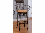 29 Inch Bar Stool in Dark Brown - Coaster