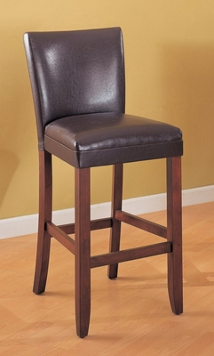 29 Inch Bar Stool (Set of 2) in Brown - Coaster