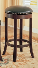 29 Inch Bar Stool (Set of 2) in Cherry - Coaster