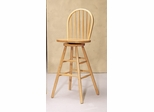 29 Inch Swivel Windsor Bar Stool in Natural - Coaster