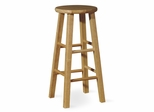 "29"" Roundtop Stool in Natural - 1S01-430"
