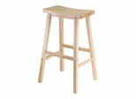 "29"" Saddle Seat Stool - Winsome Trading - 84089"