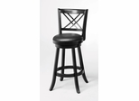 "29"" Swivel Bar Stool (Set of 2) in Black - Coaster - 101960-SET"