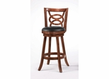 "29"" Swivel Bar Stool (Set of 2) in Cappuccino - Coaster - 101930-SET"