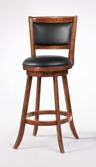 "29"" Swivel Bar Stool (Set of 2) in Dark Espresso - Coaster - 101920-SET"