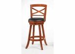 "29"" Swivel Bar Stool (Set of 2) in Light Cherry - Coaster - 101940-SET"