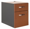3/4 Pedestal (Assembled) - Series C Auburn Maple Collection - Bush Office Furniture - WC48590SU