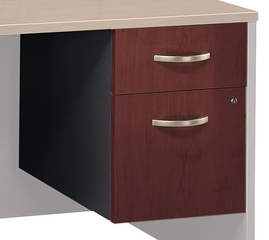 3/4 Pedestal (Assembled) - Series C Hansen Cherry Collection - Bush Office Furniture - WC24490SU