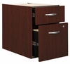 3/4 Pedestal (Assembled) - Series C Mahogany Collection - Bush Office Furniture - WC36790SU