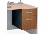 3/4 Pedestal (Assembled) - Series C Natural Cherry Collection - Bush Office Furniture - WC72490SU