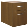 3/4 Pedestal (Assembled) - Series C Warm Oak Collection - Bush Office Furniture - WC67590SU