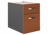 3/4 Pedestal - Series C Auburn Maple Collection - Bush Office Furniture - WC48590