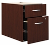 3/4 Pedestal - Series C Mahogany Collection - Bush Office Furniture - WC36790