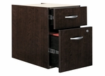3/4 Pedestal - Series C Mocha Cherry Collection - Bush Office Furniture - WC12990