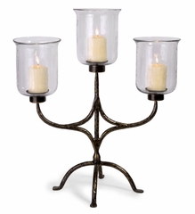 3 Arm Table Candelabra - IMAX - 6960