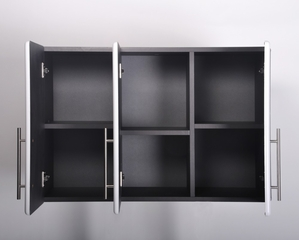 3-Door Wall Cabinet in Starfire Pearl - Ulti-MATE Storage - GA-08SW