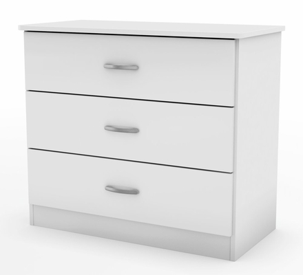 3-Drawer Chest in Pure White - South Shore Furniture - 3050033