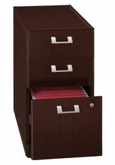 3-Drawer File - Quantum Harvest Cherry Collection - Bush Office Furniture - QT243FCS