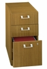 3-Drawer File - Quantum Modern Cherry Collection - Bush Office Furniture - QT243FMC