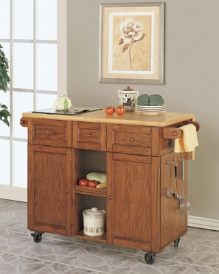3-Drawer Kitchen Butler -