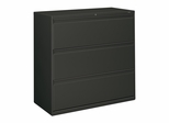 3-Drawer Lateral File - Charcoal Gray - HON893LS
