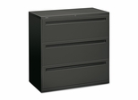 3-Drawer Lateral File - Charcoal - HON793LS
