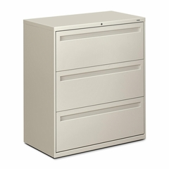3-Drawer Lateral File - Light Gray - HON783LQ