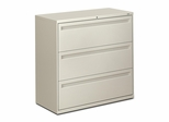 3-Drawer Lateral File - Light Gray - HON793LQ