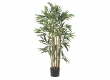 3' Multi Bambusa Bamboo Silk Tree in Green - Nearly Natural - 5279