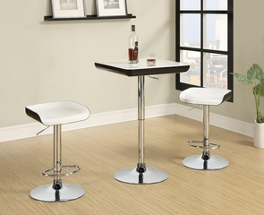3 Piece Adjustable Bar Table & Stool Set - 122100