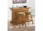3-Piece Bar Unit Set in Oak - Coaster