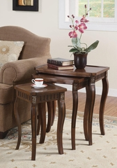 3 Piece Curved Leg Nesting Tables - 901076