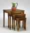 3-Piece Nesting Tables in Antique Cherry - Office Star - KH19