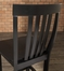 3-Piece Pub Dining Set with Cabriole Leg and School House Stools in Black Finish - Crosley Furniture - KD320003BK