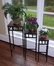 3-Piece Slate Square Plant Stands with Slate Tops - 4D Concepts - 601623