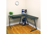 3-Piece Soreno Desk in Black - D51B29