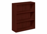 3-Shelf Bookcase - Mahgoany - HON105533NN