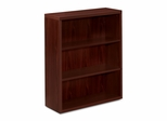 3-Shelf Bookcase - Mahogany - HON11553AXNN
