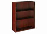 3-Shelf Bookcase - Mahogany - LLR87268