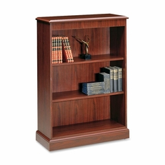 3-Shelf Laminate Bookcase - Mahogany - HON94222NN