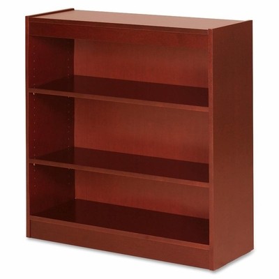3 Shelf Panel Bookcase - Cherry - LLR89051