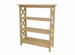 3 Tier X-Sided Shelf Unit - SH-3630X