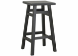 "30"" Black Pub Bar Stool - Carolina Chair - 1CS30-BLACK"