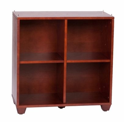 30 Inch Double / Double Storage Tower in Cherry - Links - Alaterre - ABCT026