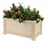 "30"" Rectangular Planter in Natural Cedar - NewAgeGarden - EPLT101-R30"