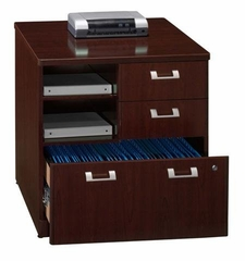 "30"" Storage File - Quantum Harvest Cherry Collection - Bush Office Furniture - QT255FCS"