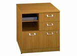 "30"" Storage File - Quantum Modern Cherry Collection - Bush Office Furniture - QT255FMC"